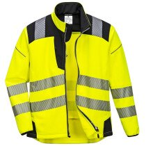 Portwest T402 PW3 Hi-Vis Softshell Jacket - Various Colours Available