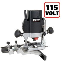 "Trend T5ELB 1000W 1/4"" Variable Speed Router 115V - UK sale only"