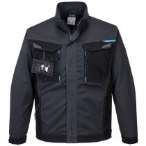 Portwest T703 WX3 Workwear Jacket - Available in Metal Grey and Persian Blue