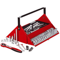 Teng Tools TC187 187 Piece Mega Rosso Mechanics Tool Kit