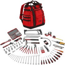 Teng Tools TC144E Portable Service Tool Kit 144 Pieces with TCSB Tool Bag/Back Pack.