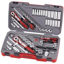 "Teng Tools TM111 111 Piece Tool Set AF/Metric 1/4"", 3/8"" & 1/2"" Drive TENTM111"
