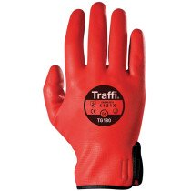 Traffi TG180 Water Resistant Safety Gloves Size 9. Cut Level 1