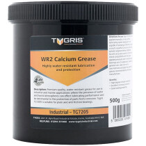Tygris TG7205 WR2 Industrial and Marine Grade Calcium Grease 500g