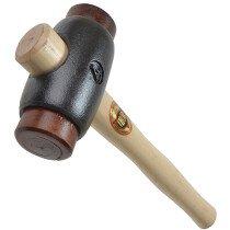 "Thor 01-016 Rawhide Hammer Size 4 50mm (2"") 2000g (4.1/2lb) THO16"