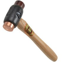 "Thor 03-208 Copper / Rawhide Hammer Size A 25mm (1"") 355g (14oz) THO208"