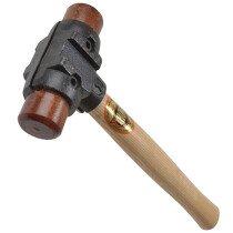 "Thor 34-RH125 Split Head Hammer Hide Size 1 32mm  (1 1/4"")  610g (1.1/2 lb) THORH125"