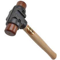 "Thor 34-RH150 Split Head Hammer Hide Size 2 38mm (1.1/2"")  960g (2lb) THORH150"
