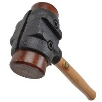 "Thor 34-RH275 Split Head Hammer Hide Size 5 70mm (2.3/4"")  3625g (7.1/2lb) THORH275"