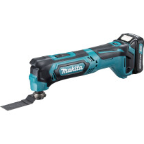 Makita TM30DWAE 12V CXT Multi Tool with 2x 2.0Ah Batteries