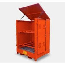 Top-Tec AMDH4D (Previously A-HD4-D) 4 x 235 Litre Drum Horizontal Outdoor Storage - AMDH4D