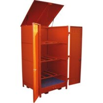 Top-Tec AMDH6D (Previously A-HD6-D) 6 x 235 Litre Drum Horizontal Outdoor Storage - AMDH6D
