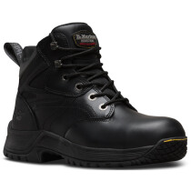 Dr. Martens 6676 Torness ST Black Leather Safety Hiker Boot SIP SRC HPO