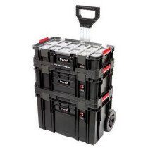 Trend MS/C/SET3C Modular Storage Compact Cart Set 3 Piece