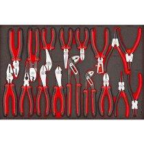 Teng Tools TTEMB17 17 Piece Mega Bite EVA Plier Set