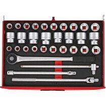 """Teng Tools TTESK32 32 Piece 3/4"""" Drive EVA Socket Set"""