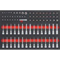 """Teng Tools TTESK85 85 Piece 1/4"""", 3/8"""" & 1/2"""" Drive EVA Socket Set"""