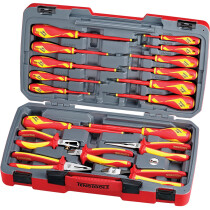 Teng Tools TV18N 18 Piece 1,000V Insulated Tool Set