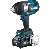 """Makita TW001GD202 40v Impact Wrench 3/4"""" Drive with 2 x 2.5Ah Batteries and Charger in Case"""