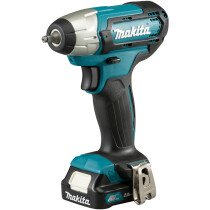 Makita TW060DWAE 112Vmax Impact Wrench CXT with 1 x BL1021B Battery & 12Vmax Standard Charger