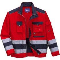 Portwest TX50 Lille Hi-Vis Jacket - Red/Navy