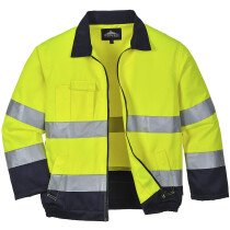 Portwest TX70 Madrid Hi-Vis Jacket - Available in Yellow or Orange