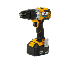 JCB 18BLCD-5  Professional Brushless 18V Combi Drill with 2 x 5.0Ah Batteries in  L-Boxx 136