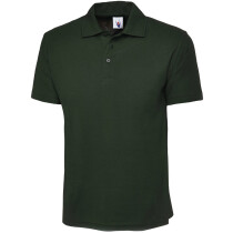 Uneek UC101 Classic Pique Polo Shirt Poly/Cotton Bottle Green (Clearance Sizes)