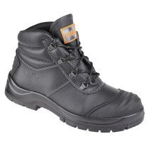 Unbreakable 8102 Renovator Black Leather Safety Chukka Boot S3 SRC