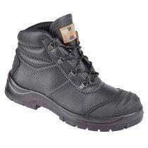 Unbreakable 8102 Renovator Black Leather Safety Chukka Boot S3 SRC