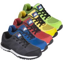 Himalayan Bounce Lightweight Metal Free Safety Trainer S1P SRC