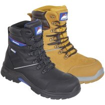 Himalayan StormHi Leather Waterproof Safety Boot Metal Free S3 SRC