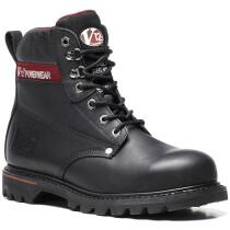 V12 Footwear V1235XL Extra Large Boulder Black Hide Derby Boot S3 HRO