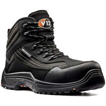 V12 Footwear Caiman V1501.01 Black Metal Free Safety Boot S3 HRO SRC