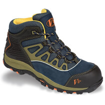 V12 Footwear V8431 Aztec Urban Hiker Safety Trainer Navy/Olive (UK Size 3 - EU36)