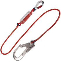 JSP FA8175 2m Rope Lanyard c/w Scaffold Hook
