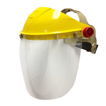 Iles SE32 Spherical Clear Face Shield Visor with Browguard Harness