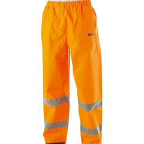 Warrior Hi Vis Seattle Over Trousers Orange (Clearance Line)