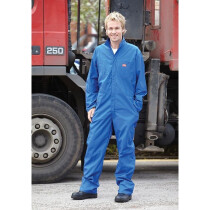 "Dickies WD3389R [CL] Lightweight Long Sleeve Coverall Blue Medium (40/42"" Chest)"