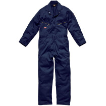 """Dickies WD4879-R De-Luxe Boilersuit Coverall - Navy Blue - SMALL, 30"""" leg"""