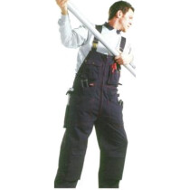 "Dickies WC61850 Grafters Bib & Brace Style Coverall Navy XXLG (42""-44"" waist)"