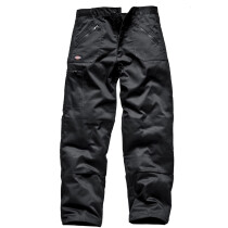 """Dickies WD814 (48S) Action Trousers - Black - 48"""" Waist, Short Leg - Special Clearance Item!"""