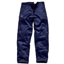 """Dickies WD814 40T Action Trousers - Navy Blue - 40"""" Waist, Tall Leg"""