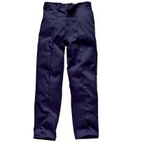 "Dickies WD864 Redhawk Mens Work Trousers - Waist 46"", Tall Leg Length, Navy Blue"