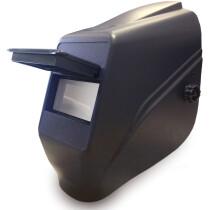 """Black Prince Flip-Front Welding Helmet 4.1/4"""" x 2"""" (108x50mm) Complete"""