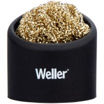 Weller WLACCBSH-02 Brass Wire Sponge Cleaner with Holder WELACCBSH