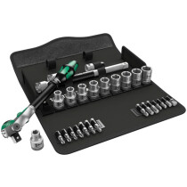 Wera 05004076001 Zyklop Speed Ratchet Metric Set 1/2in Drive WER004076