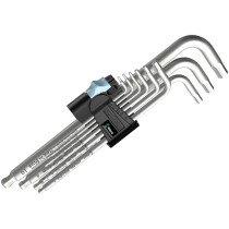 Wera 022720 9 Piece Stainless Steel Hex-Plus® Long Hex Key Set WER022720