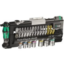 Wera 05056490001 Tool-Check Plus Tool Set 39 Piece 1/4in Drive WER056490