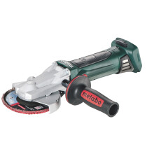 Metabo WF18LTX125 Body Only 18V Flat Head 135mm Angle Grinder in Metaloc Carry Case